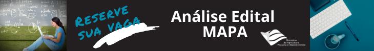 MAPA - Análise de edital