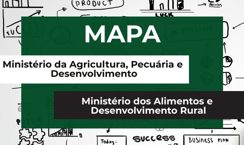 MAPA ou Ministério dos Alimentos e Desenvolvimento Rural?