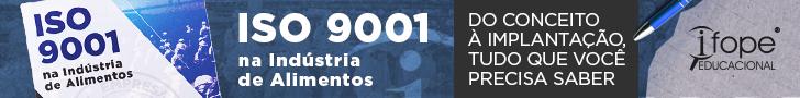 [E-book] ISO 9001 na Indústria de Alimentos