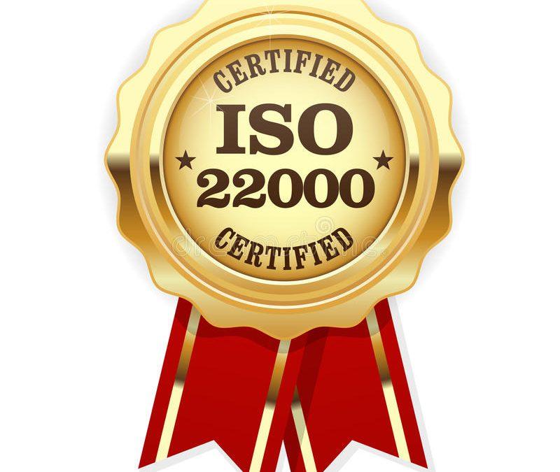 Qual a importância da ISO 22000?