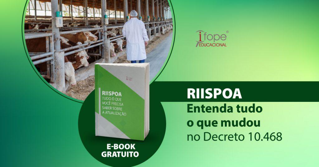 [E-book] RIISPOA – tudo o que você precisa saber sobre a atualização